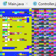 VMWareで画面が一部描画されない、カラフルに無茶苦茶になる場合の対策